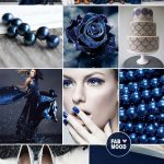 Midnight blue and steel wedding colour combinations