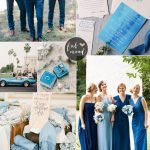 30 Blue Wedding Colour Paletttes For your blue wedding theme | fabmood.com