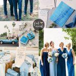 30 Blue Wedding Colour Paletttes For your blue wedding theme | fabmood.com
