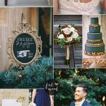 Shades of blue and gold for an opulence wedding | fabmood.com