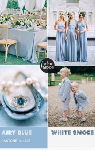 Pantone Airy Blue Wedding Colour { Pantone Color Fall 2016 }