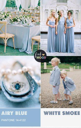 Pantone Airy Blue Wedding Colour { Pantone Color Fall 2016 }