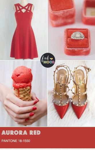 Pantone Aurora Red { Pantone Color Fall 2016 } fabmood.com