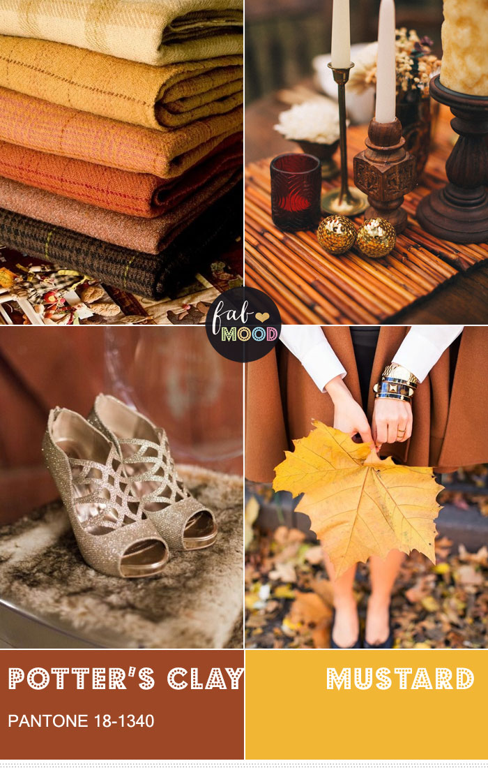 Pantone Potter's Clay { Pantone color fall 2016 } fabmood.com