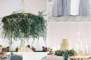 Shades of grey wedding colour theme for Outdoor Summer Wedding | fabmood.com
