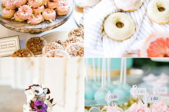 Wedding desserts besides cake | fabmood.com