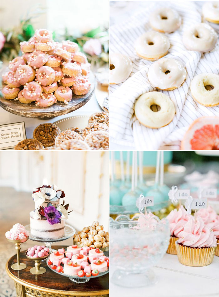 Wedding desserts besides cake   fabmood.com