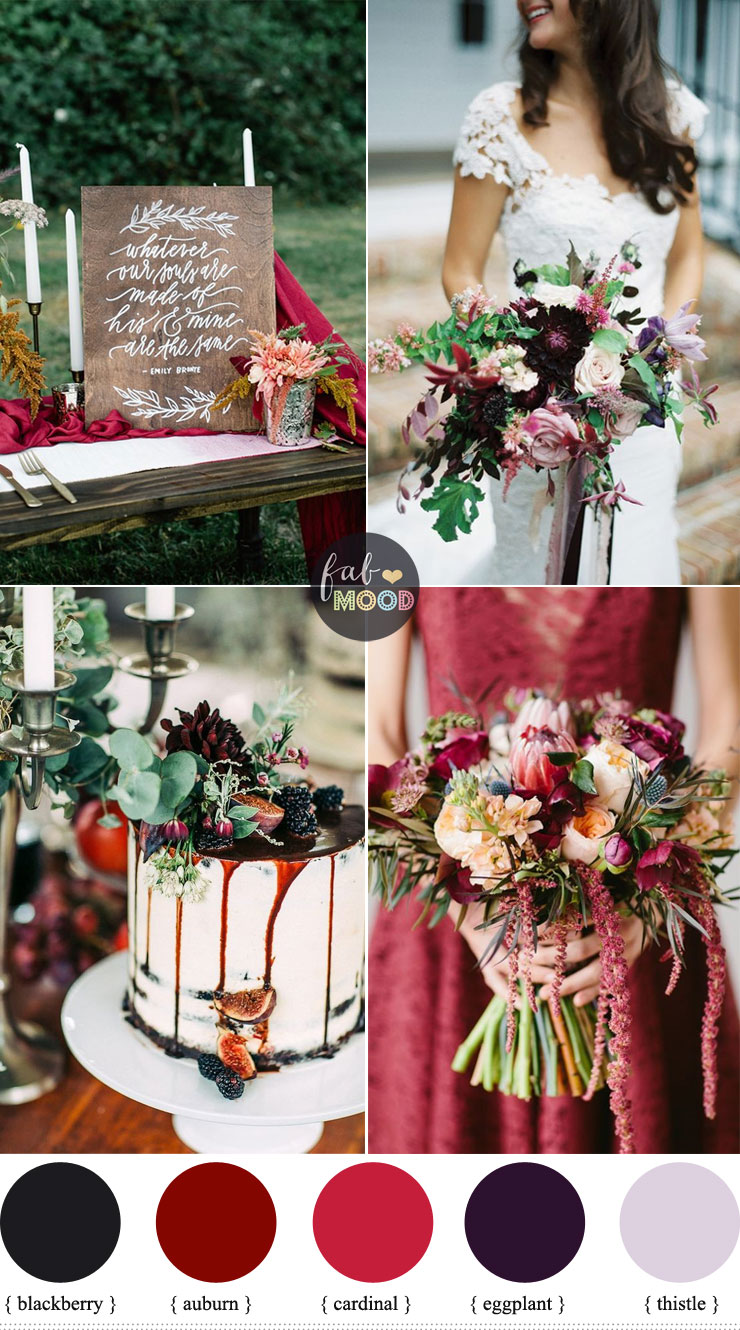 October wedding colours auburn blackberry eggplant cardinal october wedding colours auburn blackberry eggplant cardinal thistle fab mood junglespirit Image collections