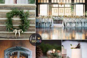 Rustic Winter Wedding in shades of neutral | Fab Mood #winter #weddinginspiration