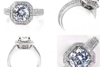 10 Unique engagement rings | Micro Pavé Engagement Rings | Knox Jewelers | Fab Mood
