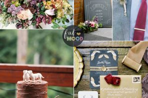 A Stylish Rustic Autumn Wedding Theme In Shades of Autumn Colours | FabMood #weddingtheme #fallwedding