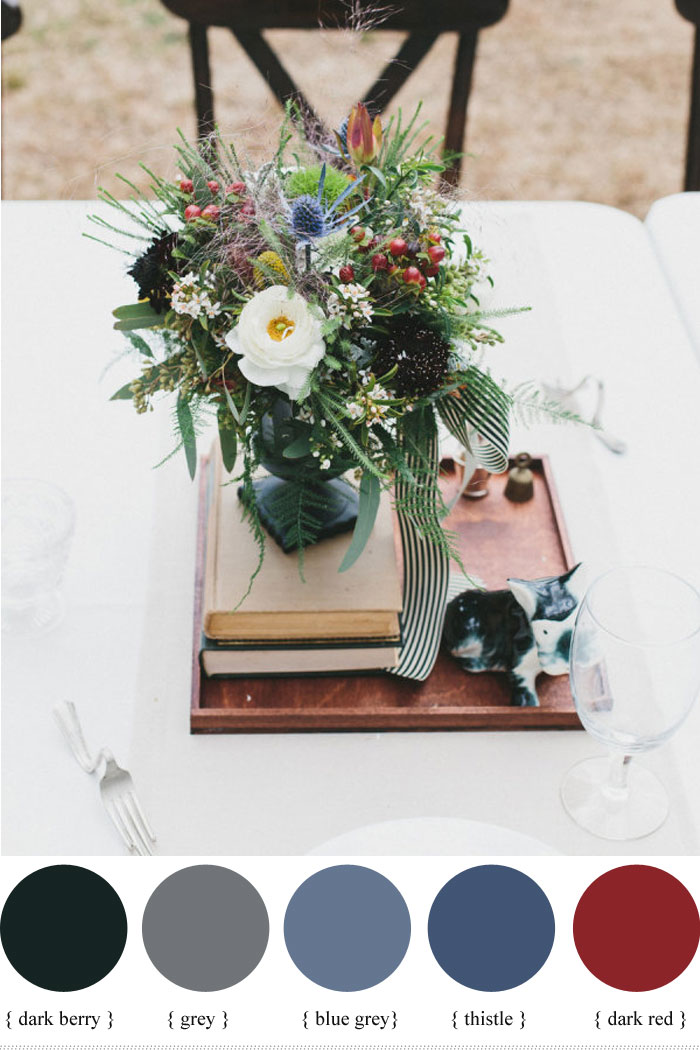 Hypericum Berry Wedding centerpieces- fall wedding | fabmood.com #fallwedding