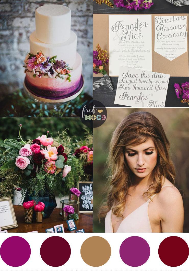 Pretty Wedding Invitations for Autumn Weddings #autumn #weddinginvitations