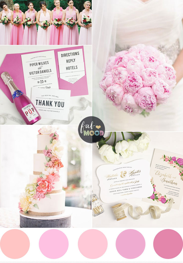 Pretty Wedding Invitations for Spring Weddings | Fab Mood #invitations #wedding