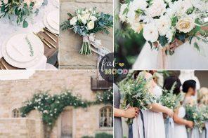 Green Wedding Colour Schemes | Fab Mood #weddingcolor #colorschemes
