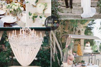 Green Wedding Ideas for French Inspired Wedding in Countryside | Fab Mood #frenchwedding #wedding