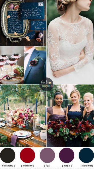 Berry and Fig Wedding Theme with Luxe Rustic Style For Fall Wedding | fabmood.com | Fab Mood #fallwedding #figwedding