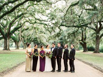 Jenny Packham Wedding Dress for A Truly Glamorous Autumn Wedding | fabmood.com