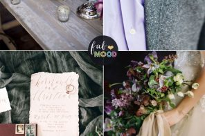 Plum and wine wedding colors + grey +lavender | fabmood.com