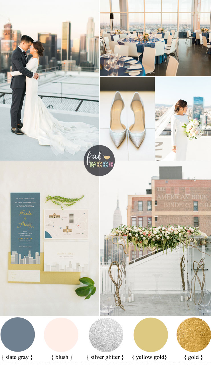 Wedding Style for the ultimate city girl | Loft Wedding Style | fabmood.com #loftwedding