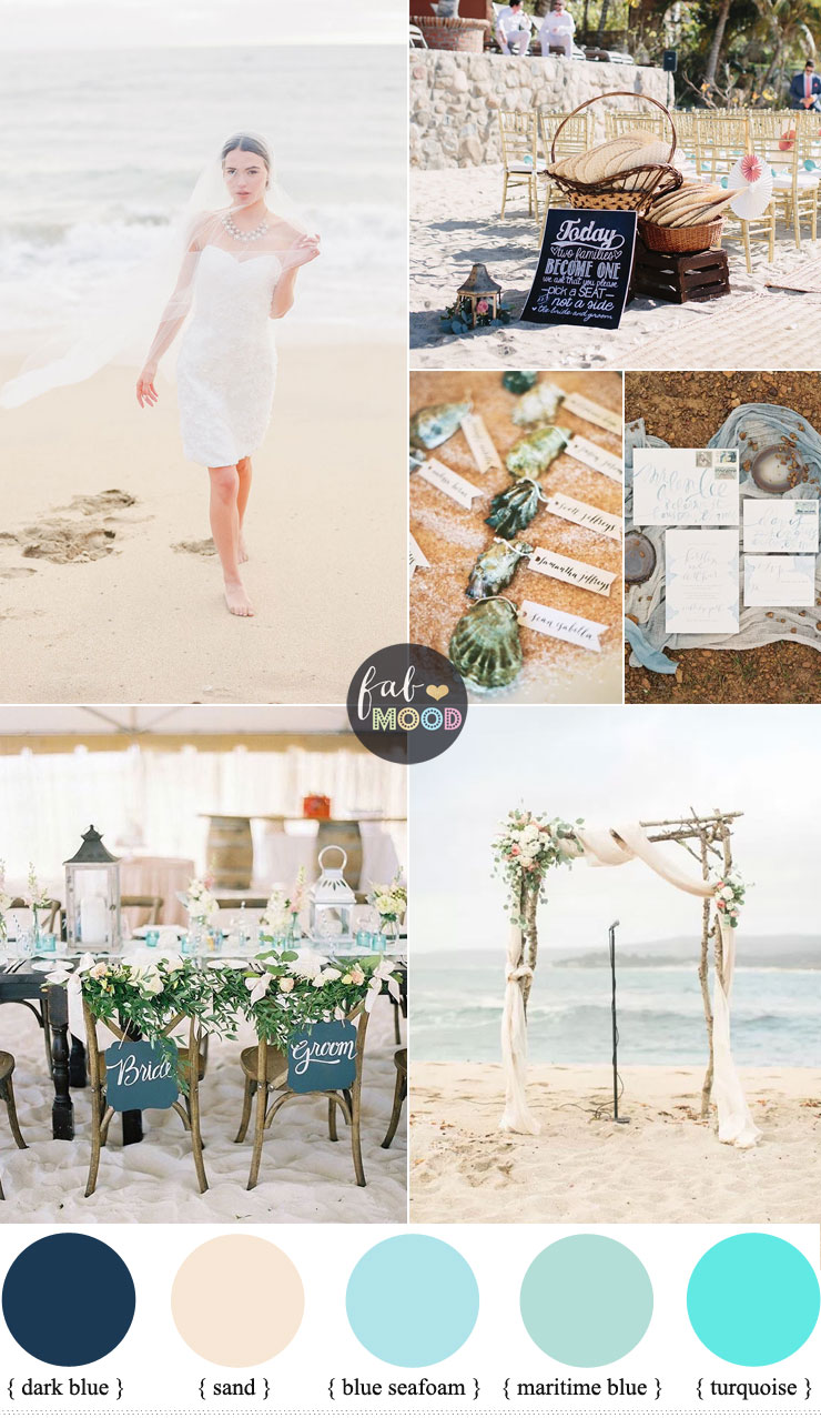 Beach Wedding Style for couples who love the great outdoors | fabmood.com #beachweddingstyle