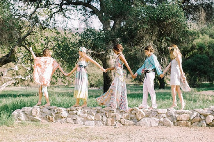 Bohemian bridal shower inspiration | fabmood.com #bridalshower #wedding #styledshoot