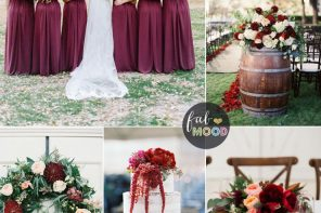 Burgundy Wedding Theme , Shades of Burgundy wedding color scheme | fabmood.com #burgundy #wedding #weddingtheme #weddingcolor