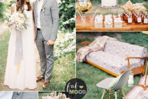 Shades of grey ,apricot and cream wedding colours for an intimate wedding | fabmood.com #wedding #weddingideas #intimatewedding #intimate #apricotwedding #cream #apricot