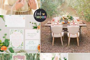 Spring Pastel Colours For An English Garden Tea Party { Pale Dogwood + Primrose Yellow + Rose Gold } fabmood.com #weddingcolour #springwedding #pastelwedding #pastel