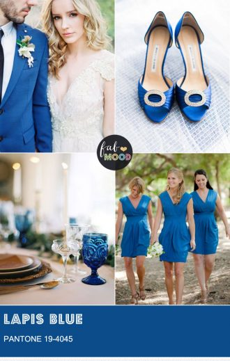 Lapis Blue Pantone spring 2017 | fabmood.com #primrose #pantone2017 #pantone #weddingcolor #weddingtheme