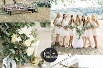 Rustic Wedding Theme for a country wedding in shades of natural green   fabmood.com #wedding #weddingcolour #greenwedding #rusticwedding #countrywedding #weddingpalette #summerwedding