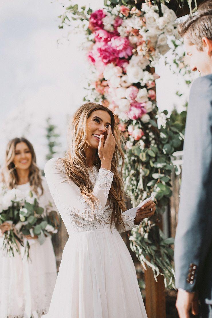 Long sleeve modest winter wedding dress ideas , Winter Wedding Gown   fabmood.com
