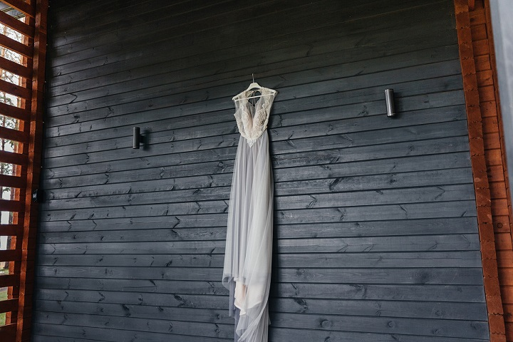 Misty Gray Color Theme For A Rustic Eco Amp Boho Wedding In