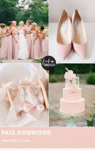 Pantone Pale Dogwood - Top 10 pantone colour spring 2017 | fabmood.com #weddingpalette #pantone #weddingcolor #pantone2017