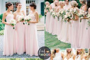 Pastel Bridesmaid Dresses | fabmood.com #pastel #wedding #weddingcolor #pastelweddings #springwedding