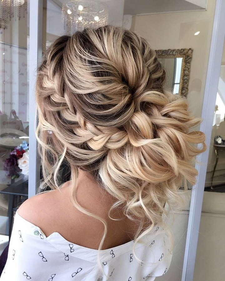 Braided Updos Wedding Hairstyle Updos Hairstyles Updo