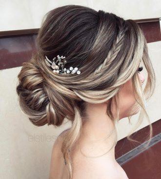 "Wedding Hairstyle | fabmood.com #weddinghair #bridalhair #hairstyle #updo #upstyle #braidupdo #hairstyleideas #hairstyles #bridalhairstyle #weddinghairstyles"""