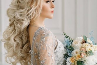 Wedding Hairstyles For Every Length - Hairstyle with wedding gown