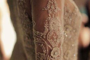 The Most Gorgeous Wedding Dresses   Short sleeved wedding dress   fabmood.com #weddingdress #weddinggown #bridalgown #laceweddingdress