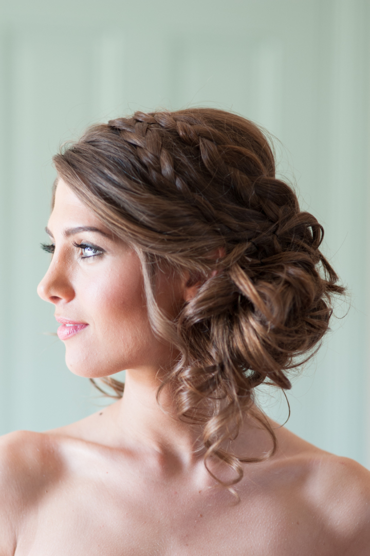 Drop Dead Gorgeous Loose Updo Hairstyle Wedding Hairstyles