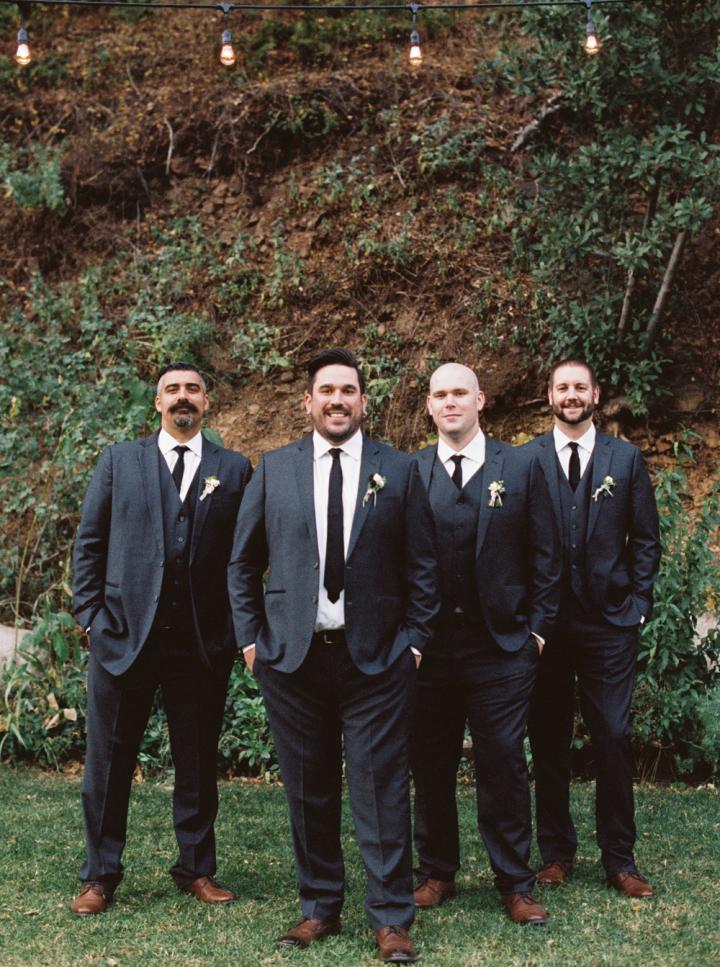 Groom & Groomsmen Rustic bohemian wedding | fabmood.com #bohemianwedding #rusticbohowedding #rusticwedding #bohemianrustic #bohemianwedding