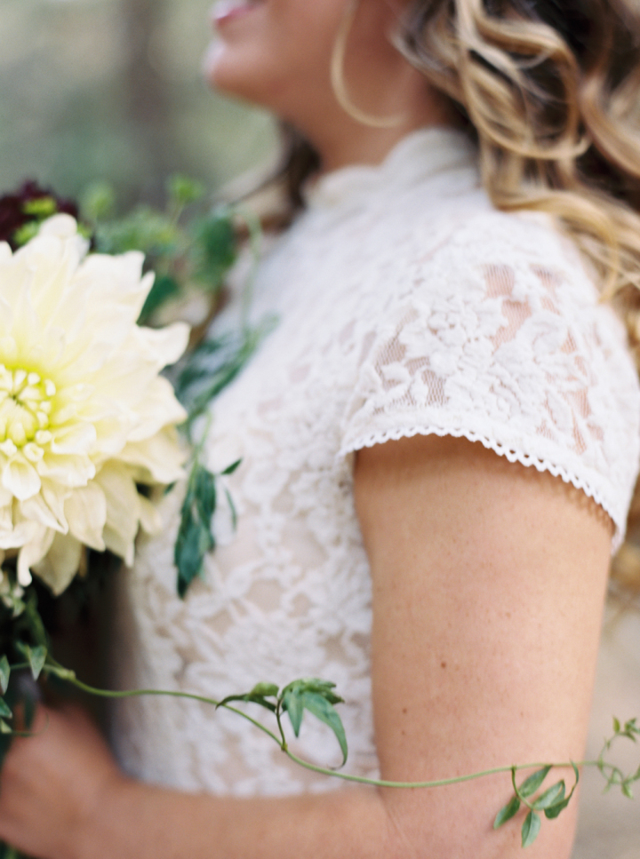 Cap sleeve wedding dress - Rustic bohemian wedding | fabmood.com #bohemianwedding #rusticbohowedding #rusticwedding #weddingdress #capsleeves