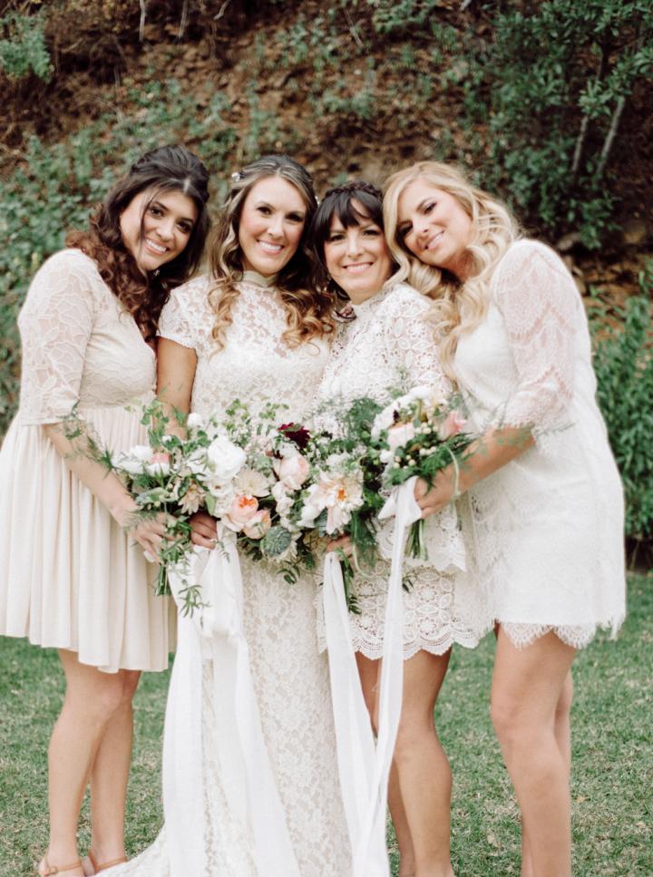 Rustic Wedding Bridal Party Dress