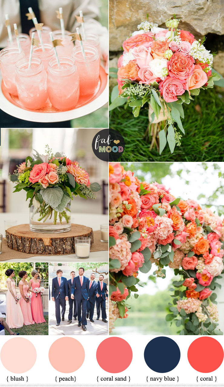 Coral Archives 1 Fab Mood Wedding Colours Wedding Themes