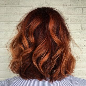 Auburn Hair Color Ideas - auburn hair with highlights,auburn hair color ideas #auburnhaircolor #naturalauburnhair, auburn hair with caramel highlights