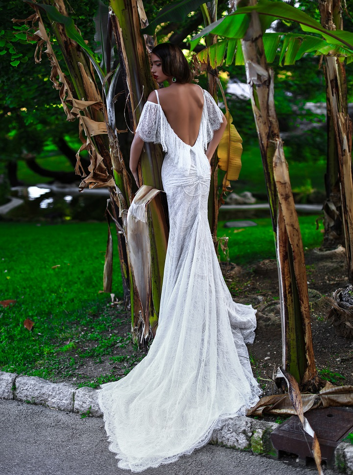 "Katherine Joyce 2017 Bridal Collection ""Ma Cherie"" beautiful open back wedding dress fabmood.com #fabmood #weddingdress #weddingdresses #bridalgown #bridaldresses #weddinggowns sexy wedding dresses,"