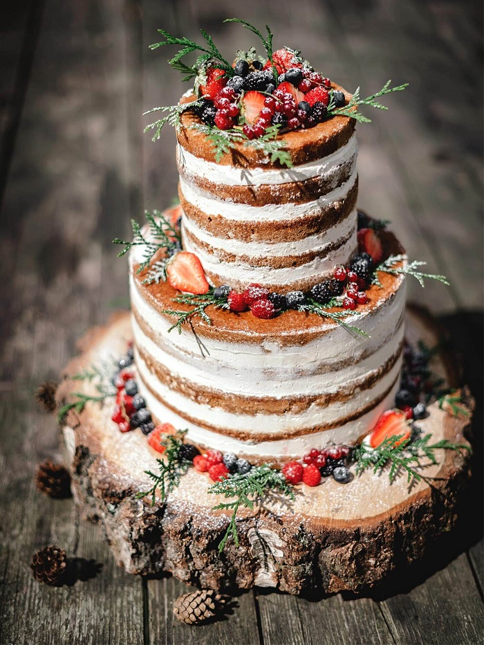 The perfect autumn wedding cake ideas #weddingcake wedding cake ideas