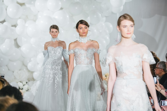 Mira Zwillinger 2018 bridal collection runway bridal show