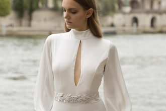 Myor brides Fall 2018 wedding dresses | Alla Wedding dress - long sleeve wedding dress | fabmood.com #weddingdress #weddingdresses