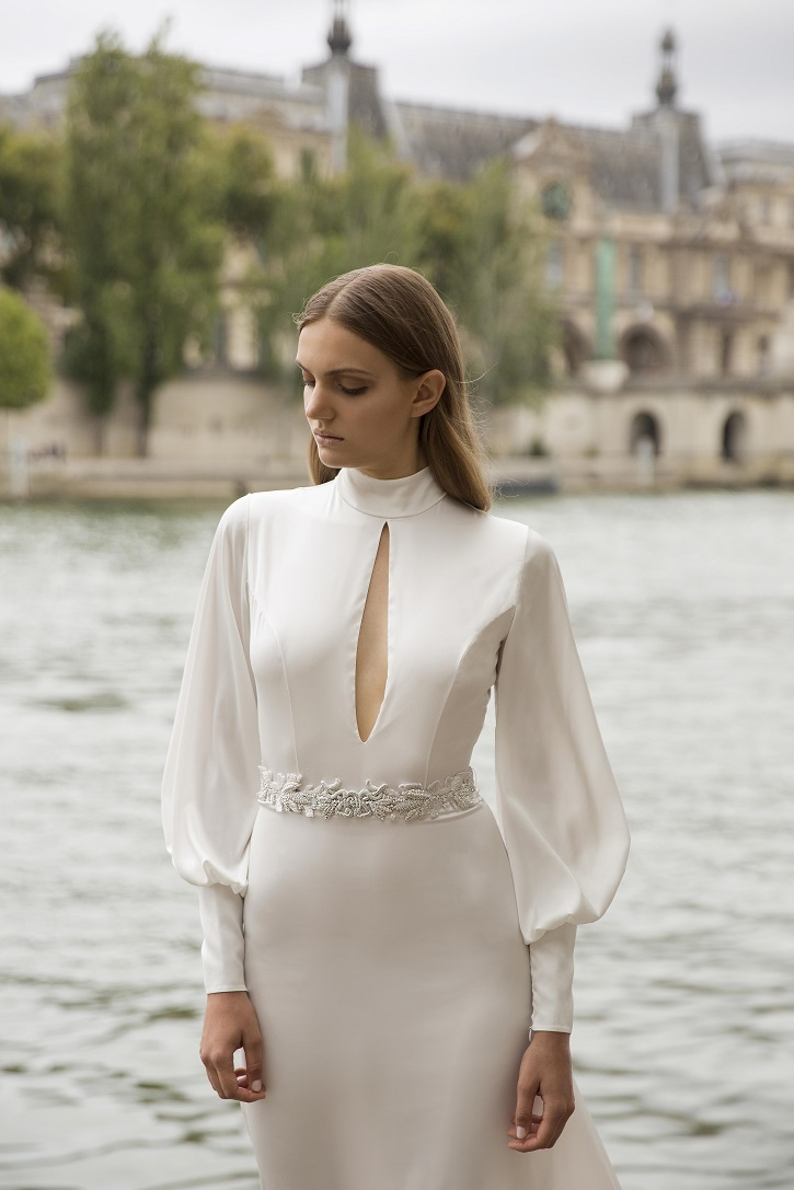 Myor brides Fall 2018 wedding dresses | Alla Wedding dress - long sleeve wedding dress | fabmood.com #weddingdress #weddingdresses
